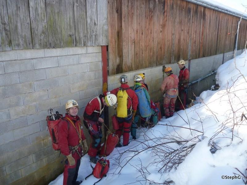 Plongée au Gouffre Dauphin (16 février 2013)