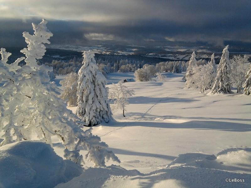 Premières randonnées nordiques enneigées de la saison