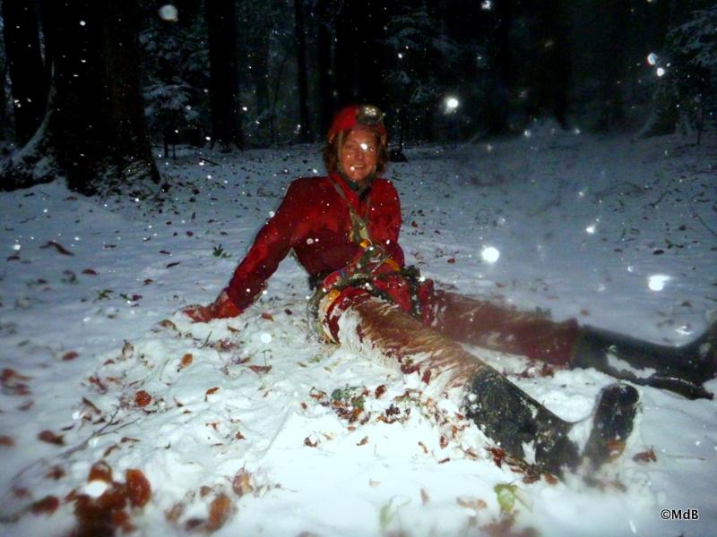Une double virée : spéléo + tempête de neige ! 27 Oct. 2012